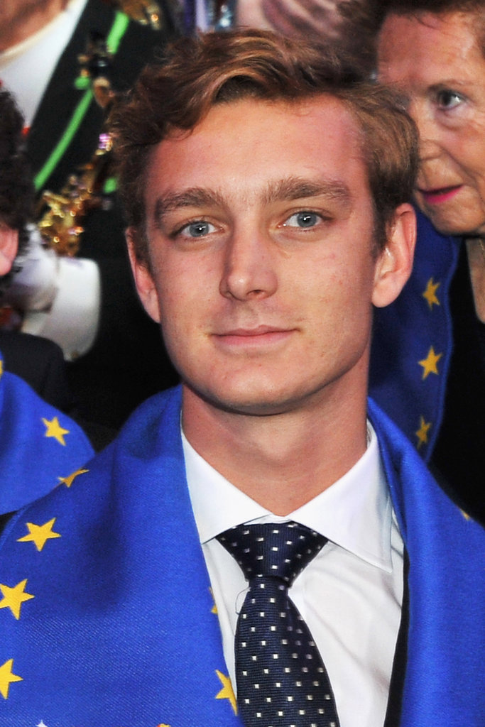 Pierre Casiraghi attends the Monte-Carlo International Circus Festival in 2011.