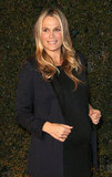 Molly Sims attended a Vanity Fair and Juicy Couture bash in LA.