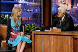 Taylor Swift on The Tonight Show.