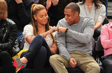 Beyoncé and Jay-Z Get In on the Linsanity With Knicks Outing in NYC!