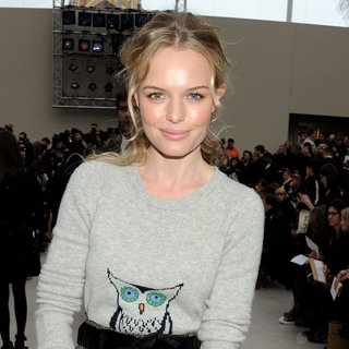 Celebrities at London Fashion Week Fall 2012