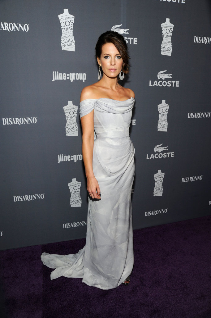 Kate Beckinsale hit the carpet in LA.