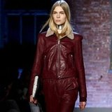 New York Fashion Week Trend Report: Red Leather