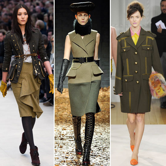 Military Mode London Fashion Week Trends!