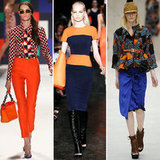 Orange and Blue Spotted on the Spring '12 Runways