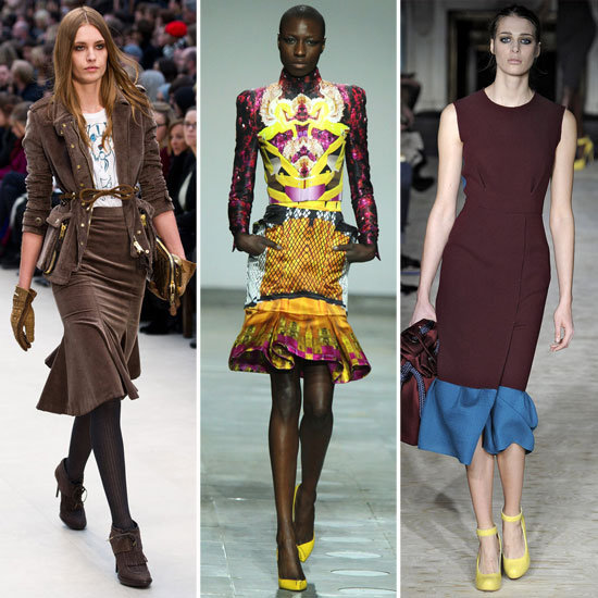 Fit  Flare Skirts London Fashion Week Trends!