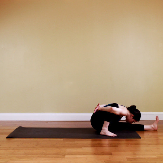 One-Legged Seated Forward Bend
