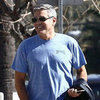 George Clooney and Grant Heslov Before Oscars Pictures