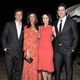 Colin Firth Party Pictures With Emily Blunt and John Krasinski