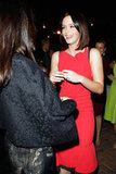 Emily Blunt attended a party benefiting Oxfam and the Green Carpet Challenge.