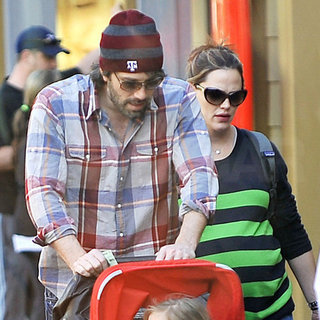 Ben Affleck and Jennifer Garner at Disneyland Pictures