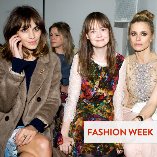 2012 A/W London Fashion Week: Front Row Beauty Looks