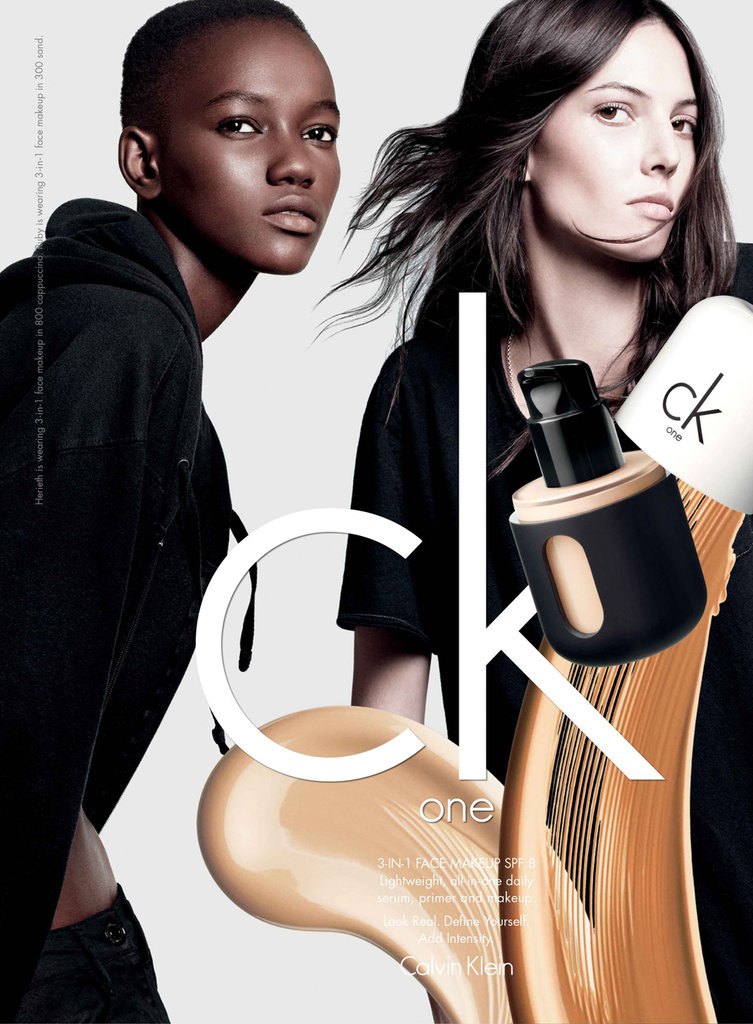 ck one: Herieth Paul and Ruby Aldridge