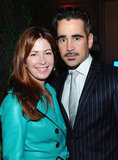 Colin Farrell and Dana Delany posed in Hollywood.