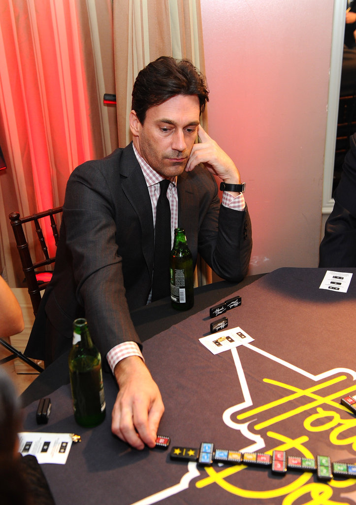 Jon Hamm played a game in LA.