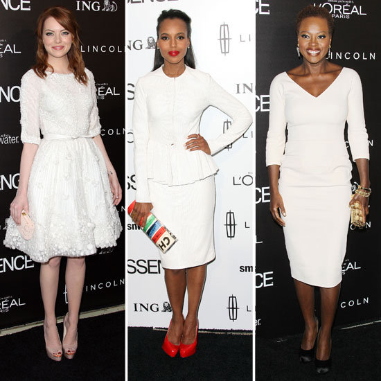 Emma Stone, Kerry Washington, Viola Davis, and Octavia Spencer Celebrate The Help With Essence