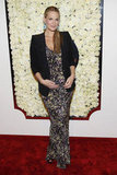 Molly Sims attended QVC's Buzz on the Red Carpet party and broadcast at the Beverly Hills Four Seasons Hotel.