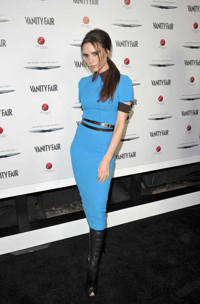 Victoria Beckham wore Victoria Beckham Collection.
