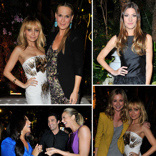 Nicole Richie, Molly Sims, Jennifer Carpenter, and More Party Inside QVC's Bash