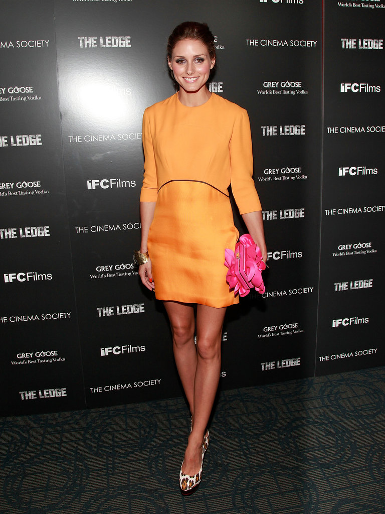 A bold Victoria Beckham mini at a film screening in June 2011.