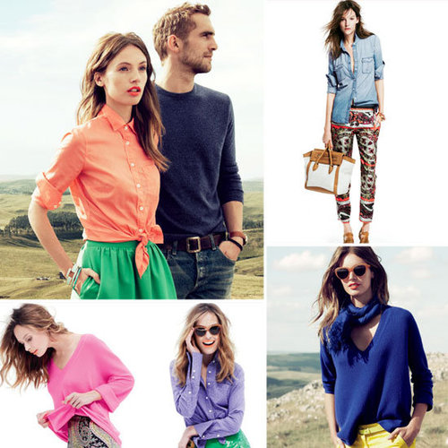 J.Crew March Catalog 2012 Pictures