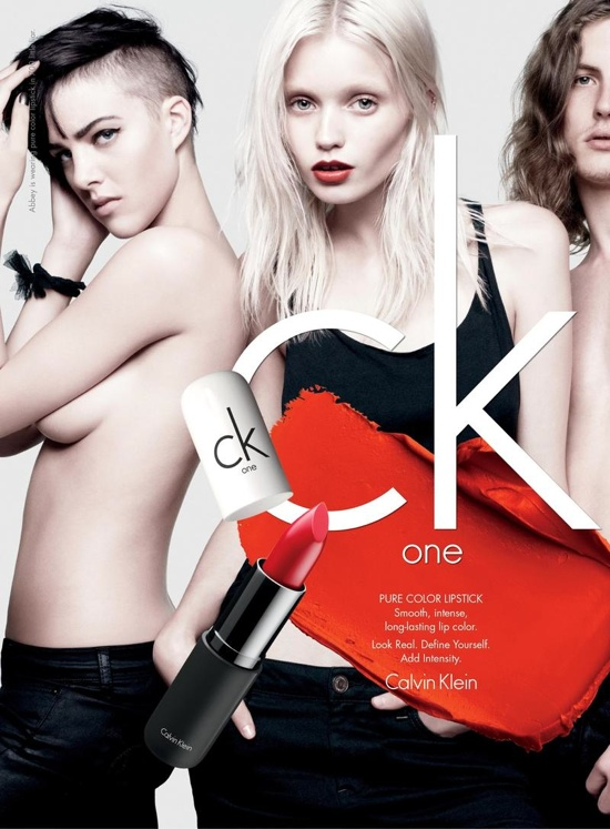 ck One Cosmetics Campaign Spring 2012