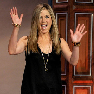 Jennifer Aniston Pictures on The Tonight Show February 2012
