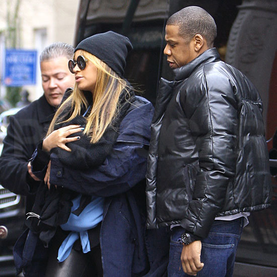 Blue Ivy Carter Does Lunch in NYC With Beyoncé and Jay-Z!