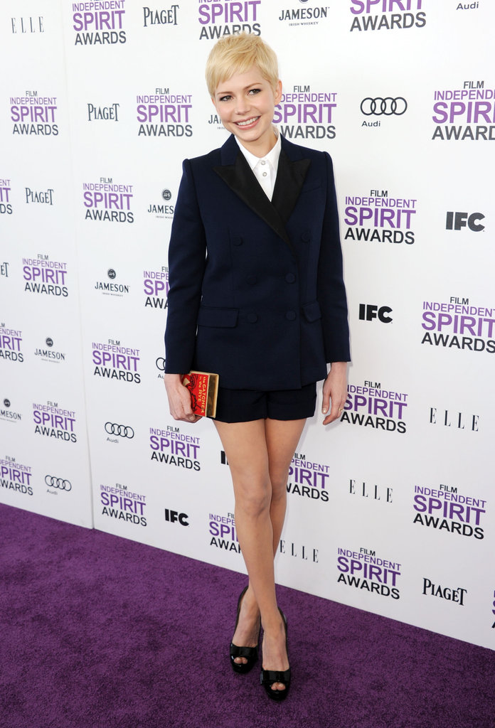 Michelle Williams and Busy Philipps Hit the Independent Spirits Carpet Together