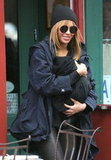 Beyoncé Knowles had her daughter Blue Ivy Carter in tow.