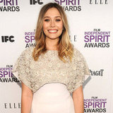 Elizabeth Olsen White Antonio Berardi Dress Pictures at 2012 Independent Spirit Awards