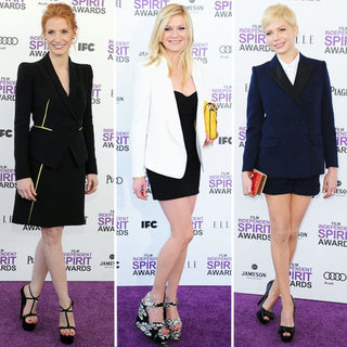 Suit Trend at the 2012 Spirit Awards
