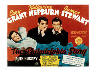 romantic comedy philadelphia story