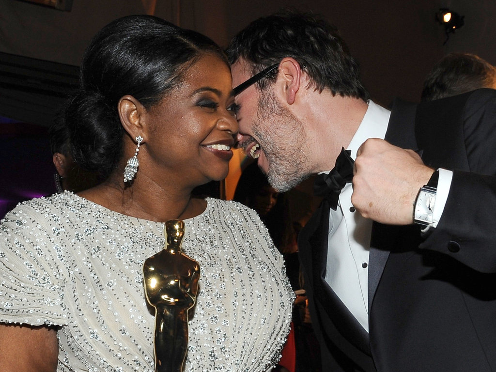 Octavia Spencer and Michel Hazanavicius