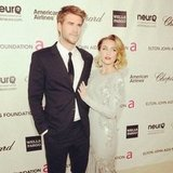 Pop editor Katie caught up with Liam Hemsworth and Miley Cyrus at Elton John's Oscars Viewing Party.