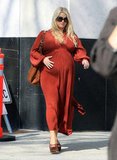 Jessica Simpson shopped in LA.