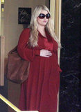 Pregnant Jessica Simpson went to LA shops.