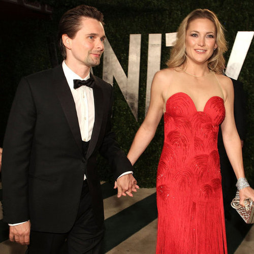 Kate Hudson and Matt Bellamy Pictures at Vanity Fair Oscars