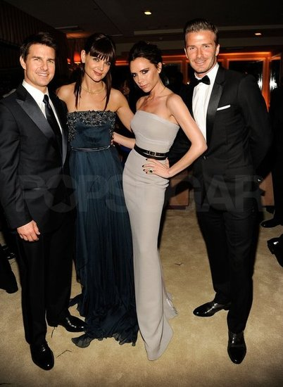 Tom Cruise, Katie Holmes, Victoria Beckham, David Beckham