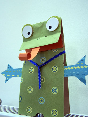 Make a Paper Bag Puppet