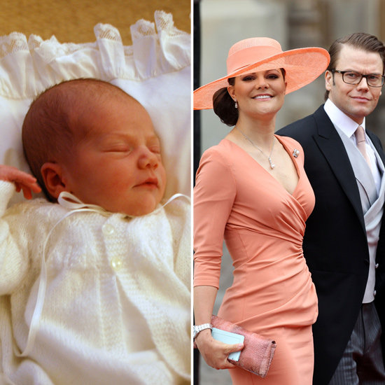 Sweden's Crown Princess Victoria Has a Baby Girl
