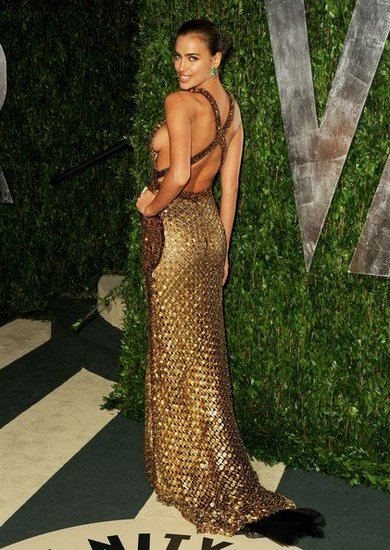 Irina Shayk(2012 Vanity Fair Oscar Party)