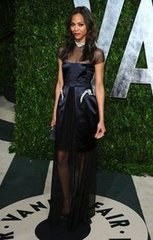 Zoe Saldana(2012 Vanity Fair Oscar Party)
