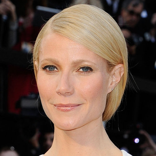 Gwyneth Paltrow's Hair and Makeup Look at the 2012 Oscars