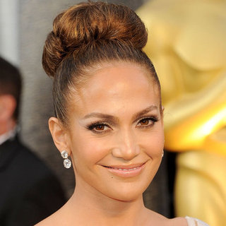 Jennifer Lopez's Hair and Makeup at the 2012 Oscars