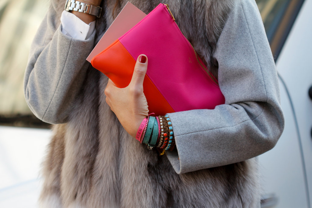 Street Style Shoes Bags And Accessories Milan Fashion Week Fall 2012 Popsugar Fashion