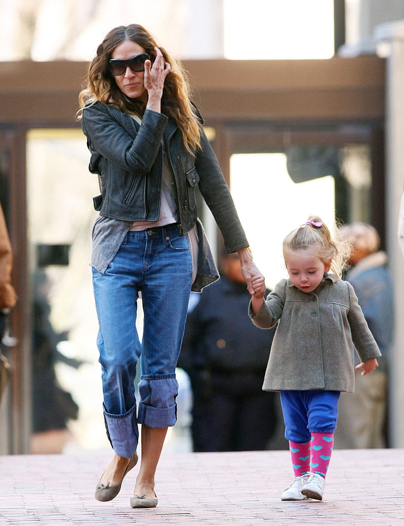 SJP Takes Her Twins For a Walk as a Young Carrie Bradshaw Gets Cast