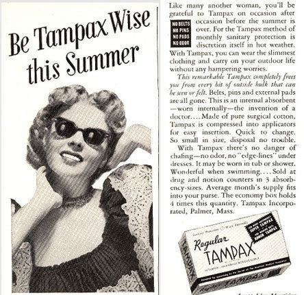 Don't just be wise, be Tampax wise!
