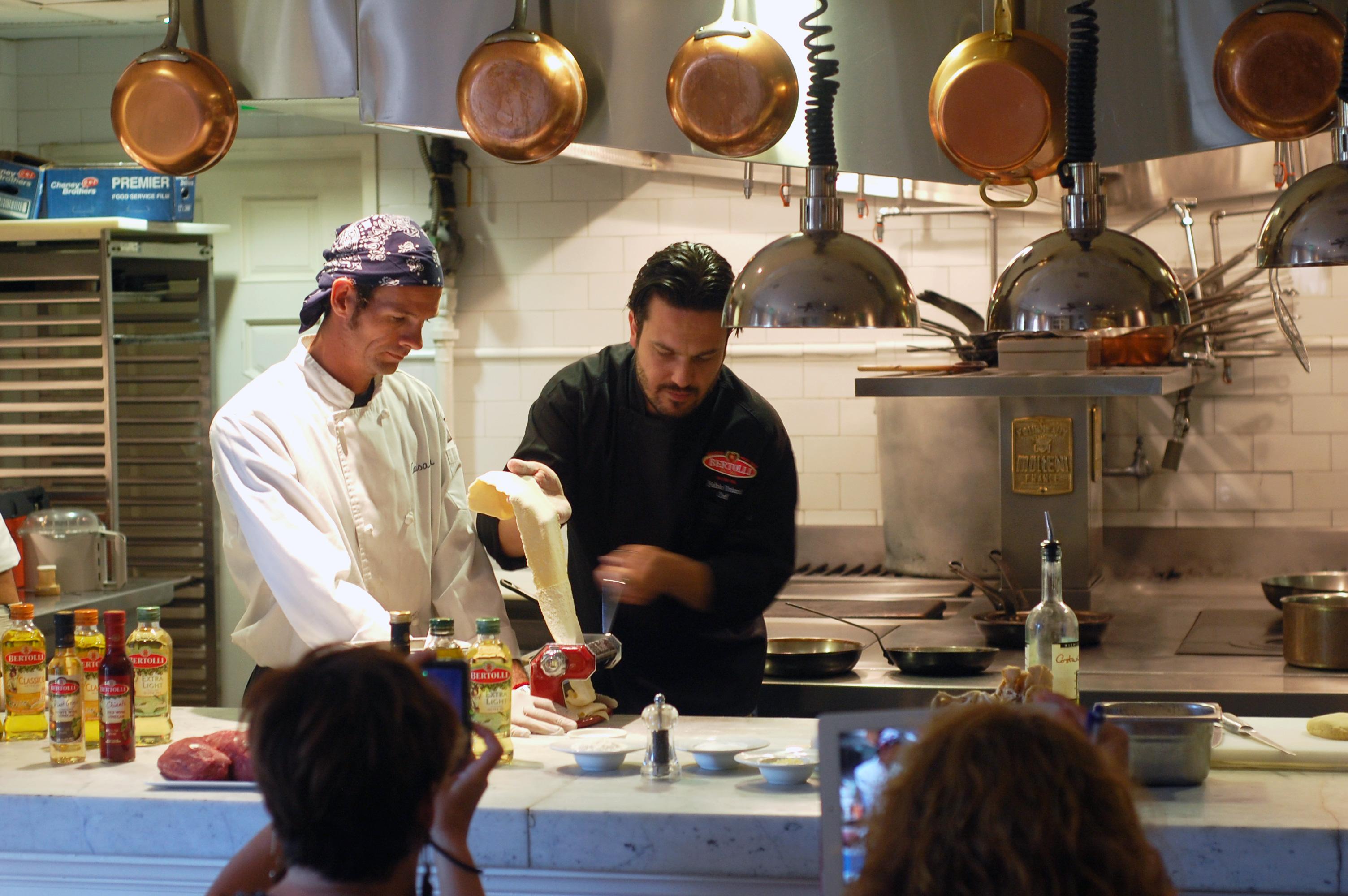 Fabio Rolls Pasta