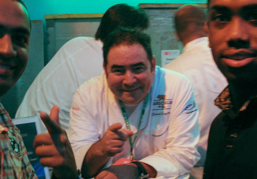 Emeril Smiles For Us